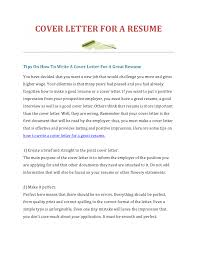 perfect quick cover letter example example of a basic cover letters template