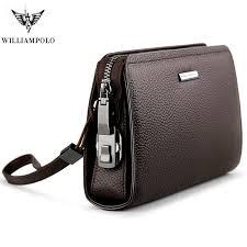 <b>WILLIAMPOLO</b> Men Credit Card Holders Luxury <b>Brand</b> Real Leather ...