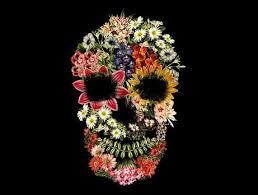 <b>Floral Skull Vintage</b> | Floral skull, Floral, Flower skull