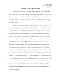 personal swot analysis essay   yesdearinc compersonal swot analysis essay