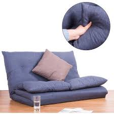 Merax <b>Adjustable Fabric Folding</b> Sofa Chair <b>Chaise</b> Floor Couch ...
