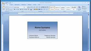 card card template microsoft word inspiration card template microsoft word medium size