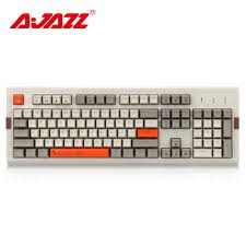 <b>Ajazz AK510 104 Keys</b> Mechanical Keyboard Retro Gaming ...