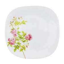 <b>Тарелка десертная</b> d. 21,5 см, опаловое стекло, <b>квадратная</b> ...