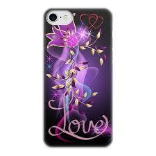 Чехол для iPhone 7, объёмная печать <b>ЛЮБОВЬ LOVE</b> #2385449 ...