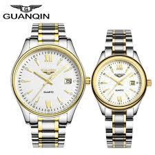 GUANQIN Couple <b>Watch</b> Set <b>Men</b> Women <b>Fashion lovers Watch</b> ...