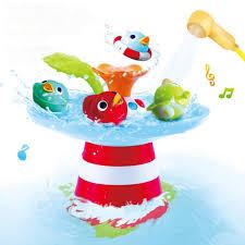 Baby Bathing <b>Toys</b> Duck Automated Spout <b>Water</b> Musical <b>Fountain</b> ...