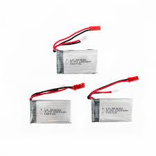 On Sale <b>3pcs 3.7V</b> 1200mAh 25C Drone <b>Rechargeable</b> Lipo <b>Battery</b> ...
