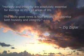 honesty and integrity are absolutely essential for success in life honesty and integrity are absolutely essential for success in life all areas of life ldquo