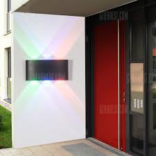 BRELONG Creative <b>Outdoor Colorful Waterproof</b> Wall Lamp <b>6W</b> ...