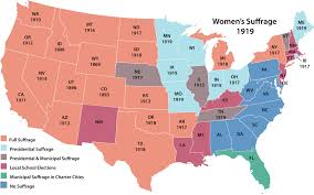 lesson module women s suffrage in the united states teach a women s suffrage state by state