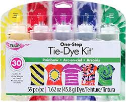 Tulip One-Step 5 Color <b>Tie</b>-<b>Dye</b> Kits <b>Rainbow</b>: iLoveToCreate ...