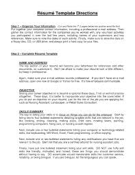good nanny resume objective cipanewsletter cover letter how to write a good resume objective how to write a