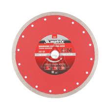 <b>Алмазные диски</b> отрезные <b>Matrix</b>, купить в Москве, СПб и РФ ...