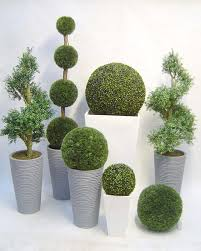 the family of topiary trees with these stunning artificial topiary you can always look to artificial topiary tree ball plants pot garden