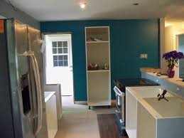 real green color kitchen