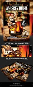 whiskey night flyer template night flyers and party events whiskey night flyer template 8937625 photoshop psd print dimensions 27 mb page more info and preview template description psd file inches