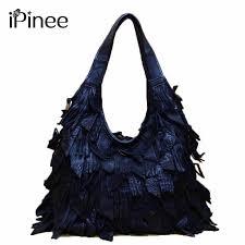 <b>iPinee Genuine</b> Leather Luxury Tassels <b>100</b>% <b>Real</b> Cow Leather ...