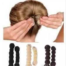 (1pack=<b>2pcs</b>) Hot Buns Hair Accessories Fashionable Hair ...