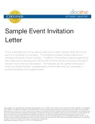 formal invitation letter for event sample letter service resume formal invitation letter for event accept a formal invitation to a social event writeexpress event invitation