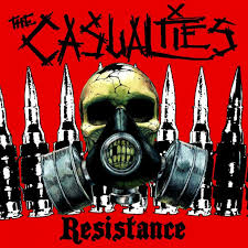THE CASUALTIES <b>hardcore punk</b> rock dark <b>skull</b> ananrchy gas ...