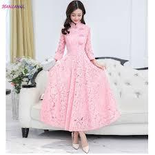 HANZANGL <b>2018 Spring</b> Women's Elegant 3/4 Sleeve Vintage <b>Lace</b> ...
