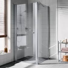 <b>Kermi Atea Душевая дверь</b> AT 1GL 1000x1850, глянц.серебро ...