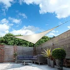 Kookaburra <b>Waterproof</b> Garden <b>Sun Shade</b> Sail Canopy in Ivory 98 ...