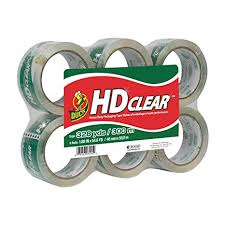 Duck HD Clear Heavy Duty Packing Tape Refill, 6 ... - Amazon.com