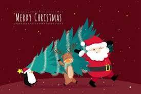 <b>Cartoon Christmas Tree</b> Free Vector Art - (1,376 Free Downloads)
