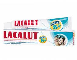 Зубной <b>гель Teens</b> 8+ лет 50 мл <b>Lacalut</b> — купить в Москве в ...