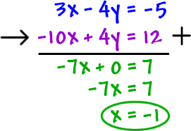 Systems of Equations 2x2's - Cool math Algebra Help Lessons ...