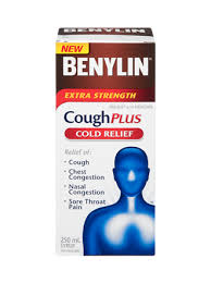 <b>Extra</b> Strength Cough & Cold Syrup | BENYLIN® Canada