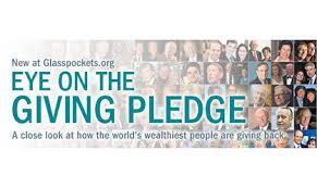 「the giving pledge」的圖片搜尋結果