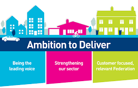 Our business plan     What we do   About us   National        central to housing policy development as trusted and respected partners   key decision makers  Being at the centre of decision making