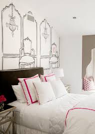 Paris Inspired Bedrooms Bedroom Teen Girl 39 S Bedroom Paris Theme With Silver Black And