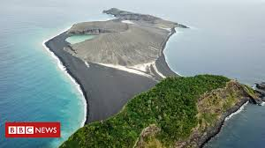 New Tonga island 'now home to <b>flowers</b> and <b>owls</b>' - BBC News