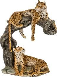 Статуэтка <b>Lefard</b> Леопард, 272-238, желтый, 28 х 17 х 35 см ...