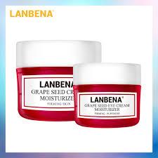【Ready Stock】<b>LANBENA Grape Seed Facial</b> Cream+Grape Seed ...