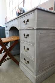 georgeous gray desk using white wax on furniture astonishing pinterest refurbished furniture photo