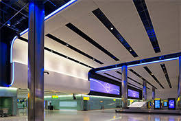 during construction heathrow also insists that lighting designers have an input british lighting designers