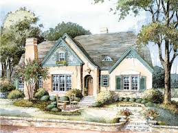 English Country Cottage House Plans at Dream Home Source   English    Temp  With their picturesque storybook style  English Cottage house plans became popular