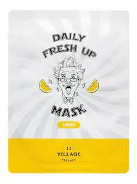 <b>Тканевая маска</b> с <b>экстрактом</b> лимона Factory Daily Fresh Up Mask ...