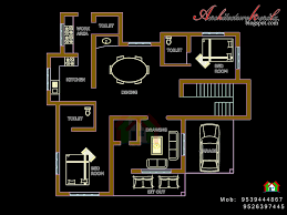 FOUR BED ROOM HOUSE PLAN   ARCHITECTURE KERALAFOUR BED ROOM HOUSE PLAN