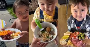 """This Little Boy on TikTok Says """"<b>Thank You</b>, <b>Mama</b>"""" for Every Meal"""