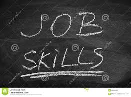 job skills stock photo image  job skills