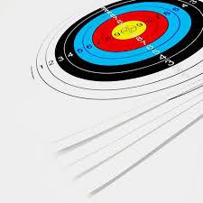 1/<b>3pcs</b> Tenxion Target <b>Paper</b> Useful 60x60cm Colorful Archery ...