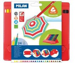 Карандаши, восковые <b>мелки</b>, <b>пастель</b> Milan: каталог, цены ...
