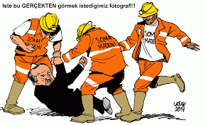 Image result for ERDOGAN HUMAN RIGHT CARTOON