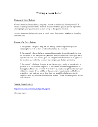 cover letter purpose template cover letter purpose